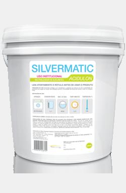 Silvermatic Acidulon - acidulante produtos de limpeza para lavanderia | Campinas SP