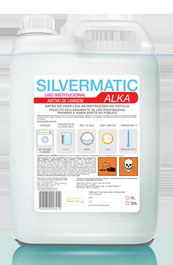 Silvermatic Alka - aditivo produtos de limpeza para lavanderia | Campinas SP