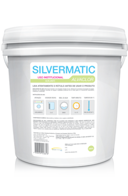 Silvermatic Alvaclor - alvejante em pó produtos de limpeza para lavanderia | Campinas SP