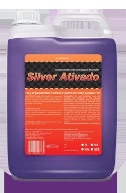 Silver Ativado - desincrustante ácido produtos de limpeza automotiva | Campinas SP