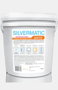 Silvermatic Brite - detergente alvejante produtos de limpeza para lavanderia | Campinas SP