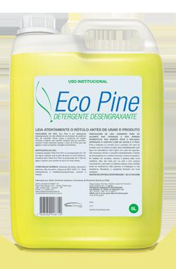 Eco Pine - detergente desengraxante produtos de limpeza higiene geral | Campinas SP