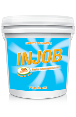 Injob Pasta Laranja - pasta desengraxante - produtos de limpeza profissional higiene pessoal | Campinas SP