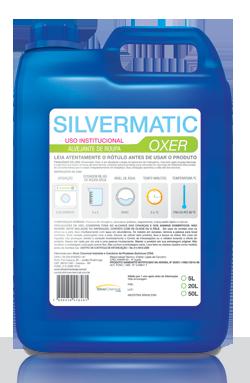 Silvermatic Oxer - alvejante para roupas produtos de limpeza para lavanderia | Campinas SP