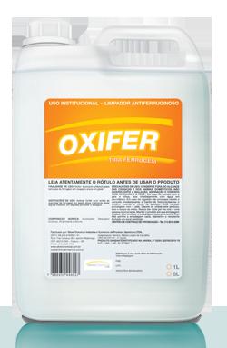 Oxifer - tira-ferrugem produtos de limpeza higiene geral | Campinas SP