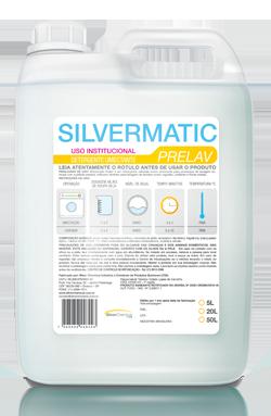 Silvermatic Prelav - detergente para roupas produtos de limpeza para lavanderia | Campinas SP