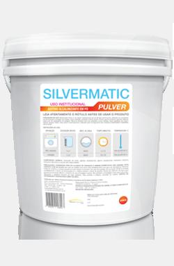 Silvermatic Pulver - aditivo produtos de limpeza para lavanderia | Campinas SP