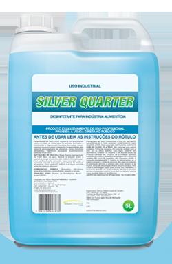 Silver Quarter - desinfetante - produtos de limpeza profissional indústria alimentícia | Campinas SP