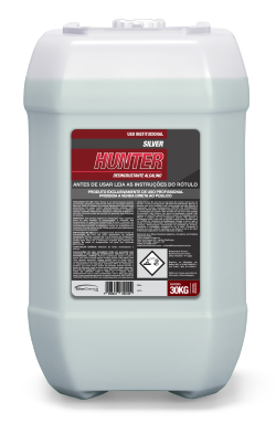 Silver Hunter - desincrustante - produtos de limpeza profissional indústria alimentícia | Campinas SP