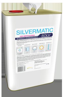 Silvermatic Solv - detergente desengordurante produtos de limpeza para lavanderia | Campinas SP