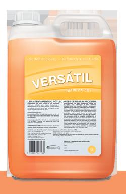 Versatil - detergente produtos de limpeza higiene geral | Campinas SP