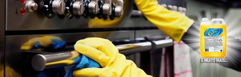 Grill - Detergente desincrustante para limpeza de cozinha industrial | Campinas SP